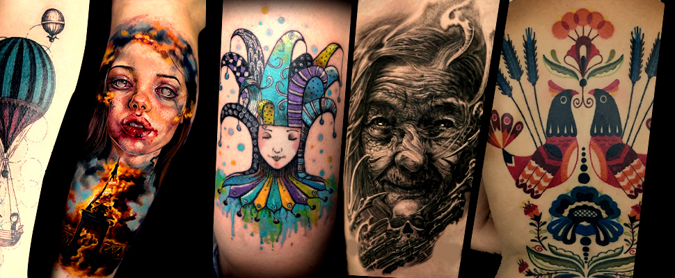 Getting inked: four countries, four styles