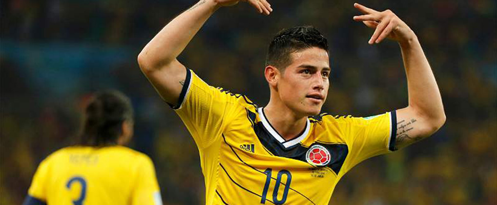 James: el '10' que esperaba Colombia