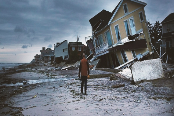 Why are hurricanes affecting Europe?