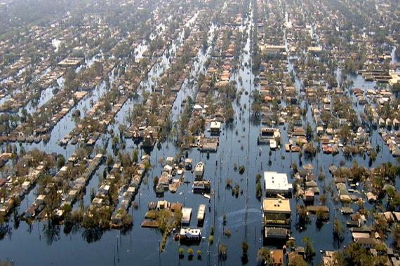 America: Hurricanes, earthquakes, and fires